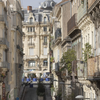 hotel exterieur proche Opéra montpellier