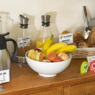 fruit breakfast organic locavore hotel Montpellier